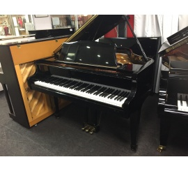 Centre chopin Pianos à Queue SAMICK SG140 noir brillant