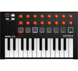 Arturia MiniLab MkII Orange Edition - Centre Chopin
