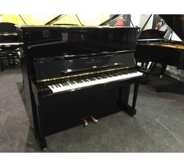 Centre chopin Pianos Droits   STEINWAY & SONS K132 noir brillant