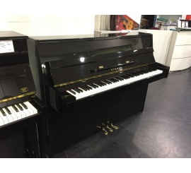 Centre chopin Pianos Droits   YAMAHA C108 noir brillant