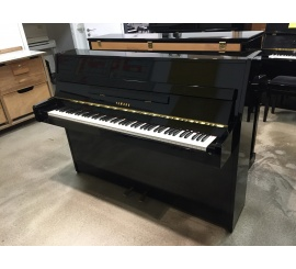 Centre chopin Pianos Droits   YAMAHA E108 noir brillant