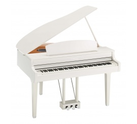 Yamaha CLP-695 GP PW + BANQUETTE BLANCHE OFFERTE - Centre Chopin
