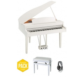 Yamaha CLP-695 GP WH PACK - Centre Chopin