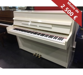 Centre chopin Pianos Droits FURSTEIN TP105 blanc brillant