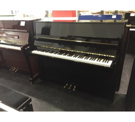 Centre chopin Pianos Droits PETROF 115 noir brillant