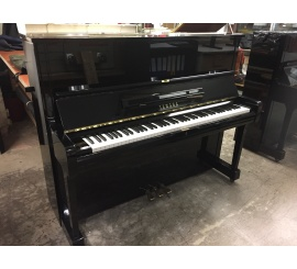 Centre chopin Pianos Droits YAMAHA U1 noir brillant