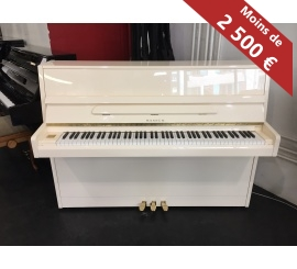 Centre chopin Pianos Droits SAMICK JS042 ivoire brillant
