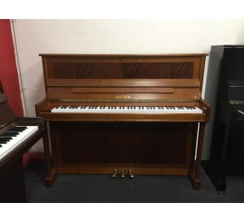 Centre chopin Pianos Droits SAUTER 120 Resonance merisier satiné