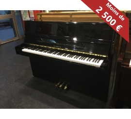 Centre chopin Pianos Droits SAMICK JS042 noir brillant