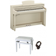 Yamaha CLP-745WA FRENE CLAIR PACK - Centre Chopin