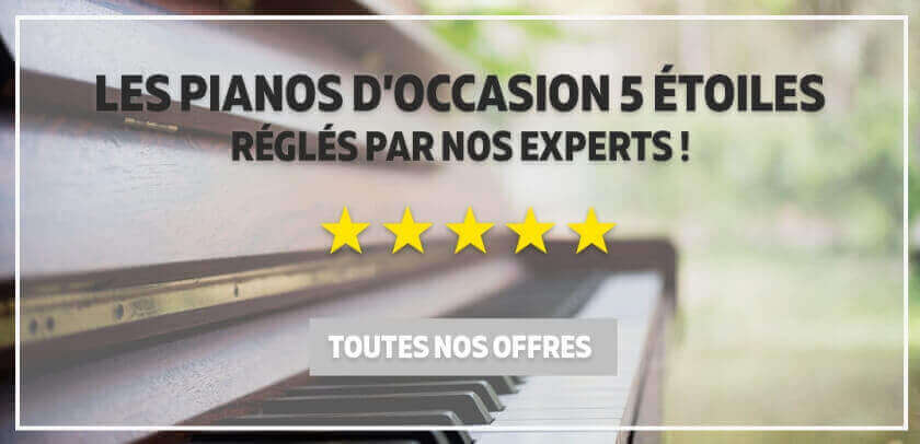 Grande sélection de pianos d\'occasion